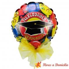 Globo Felicidades Graduados