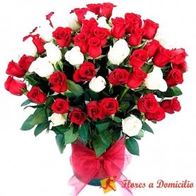 Florero 60 Rosas Premium