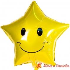 Globos Estrella Feliz