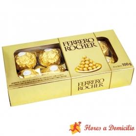 Bombón Ferrero Rocher, 100 g