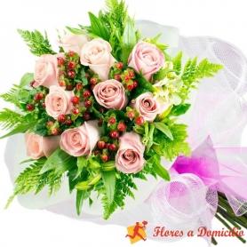 Ramo 10 Rosas Rosadas