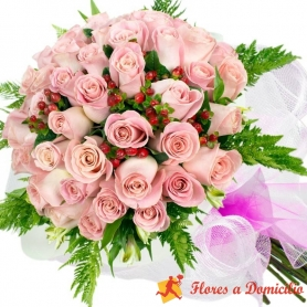 Ramo de 100 Rosas Rosadas