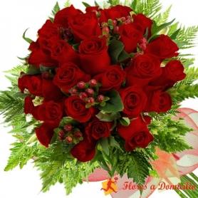 Ramo de 26 Rosas Rojas