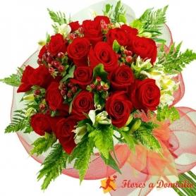 Ramo de 24 Rosas Rojas