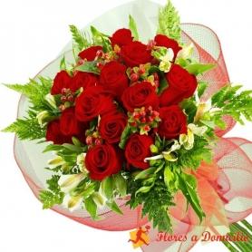 Ramo 15 Rosas Rojas