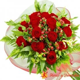 Ramo 14 Rosas Rojas