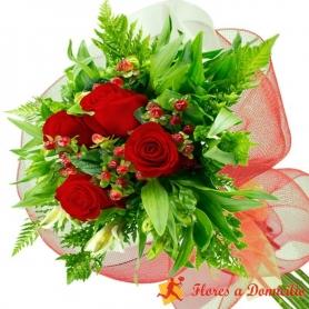 Ramo 4 Rosas Rojas