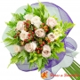 Ramo 10 Rosas Blancas