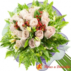 Ramo 20 Rosas Blancas
