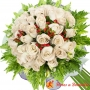 Ramo 28 Rosas Blancas