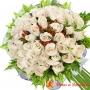 Ramo 32 Rosas Blancas