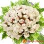 Ramo 70 Rosas Blancas