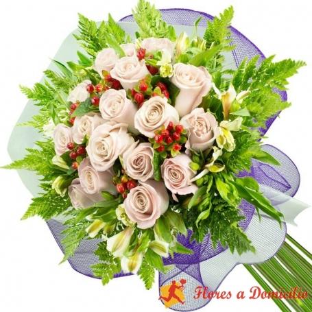 Ramo 15 Rosas Blancas