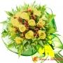 Ramo 14 Rosas Amarillas