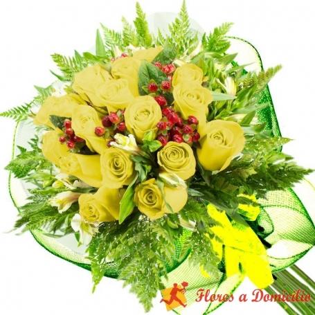 Ramo 20 Rosas Amarillas