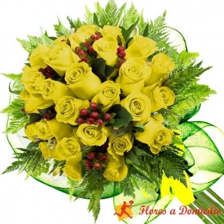 Ramo 24 Rosas Amarillas