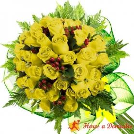 Ramo 26 rosas Amarillas