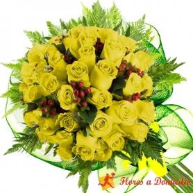 Ramo 28 Rosas Amarillas