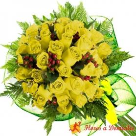 Ramo 30 Rosas Amarillas