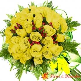 Ramo 32 Rosas Amarillas