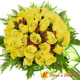 Ramo 34 Rosas Amarillas