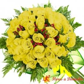 Ramo 36 Rosas Amarillas