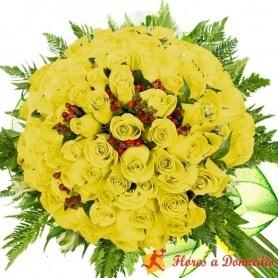 Ramo 40 Rosas Amarillas