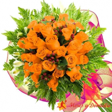 Ramo 30 Rosas Damasco