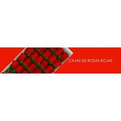 Cajas con Rosas Rojas